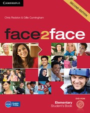 face2face Second edition Elementary Student's Book with DVD-ROM