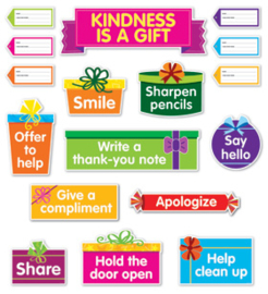 Kindness Is a Gift Bulletin Board