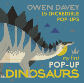 My First Pop-up Dinosaurs (Owen Davey)