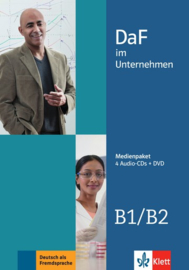DaF im Unternehmen B1-B2 Multimediapakket (4 Audio-CDs + DVD)