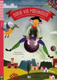 Baron von Münchhausen en seine wundersamen Geschichten Buch + Audio-CD