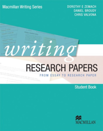 Macmillan Writing Series Writing Research Papers Student's Book