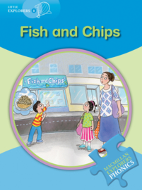 Little Explorers B -  Fish and Chips Reader