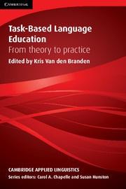 Task-Based Language Education Paperback