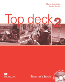 Top Deck Level 2 Teacher's Book and Teacher's Resource CD Pack