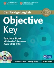 Objective Key Second edition Teacher's Book with Teacher's Resources Audio CD/CD-ROM
