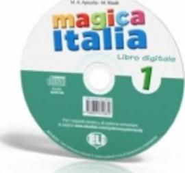 Magica Italia 1 Class Digital Book - Dvd