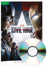 Marvel's Captain America: Civil War Book & CD Pack