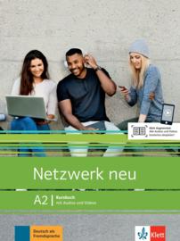 Netzwerk neu A2 Studentenboek met Audios en Videos