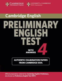 Cambridge Preliminary English Test 4 Student's Book with answers