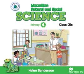 Macmillan Natural and Social Science Level 4 Class Audio CD (3)
