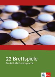 22 Brettspiele Deutsch als Fremdsprache Eine Sammlung interaktiver Unterrichtsideen met Kopiervorlagen