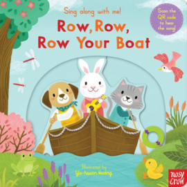 Sing Along With Me! Row, Row, Row Your Boat  (Board Book – Reissue)