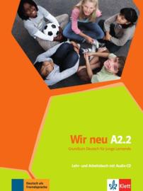 Wir neu A2.2 Studentenboek en Werkboek met Audio-CD