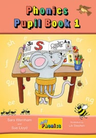 Jolly Phonics Pupil Book 1 (colour in precursive letters)
