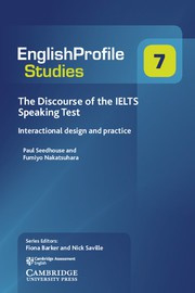 Discourse of the IELTS Speaking Test Paperback