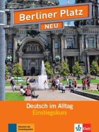Berliner Platz NEU Einstiegskurs Studentenboek en Werkboek met 2 Audio-CDs