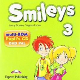 Smiles 3 Pupils Multi Rom Pal (international)