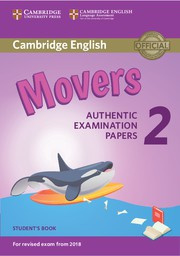 Cambridge English Young Learners 2 Movers Student's Book