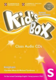 Kid's Box Updated Second edition Starter Class Audio CDs (2)