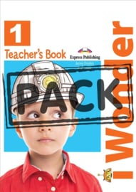 I-wonder 1 Teacher's Book (with Posters) (international)