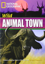 Footprint Reading Library 1600: Wild Animal Town Book With Multi-rom (x1)