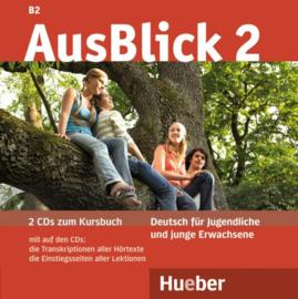 AusBlick 2 2 Audio-CDs bij het Studentenboek