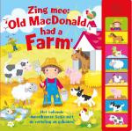 Zing mee: Old MacDonald had a farm, 8 geluiden (Hardback)