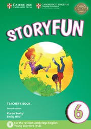 Storyfun for Starters, Movers and Flyers Second edition 6 Teacher's Book with Audio
