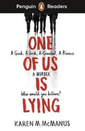 Penguin Readers Level 6: One Of Us Is Lying (ELT Graded Reader) (Paperback)