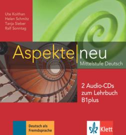 Aspekte neu B1 plus 2 Audio-CDs bij het Lehrbuch