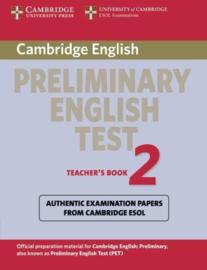 Cambridge Preliminary English Test 2 Teacher's Book