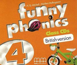 Funny Phonics 4 Class Cd (British Edition)