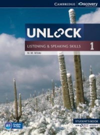 Unlock Level 1 Listening and Speaking Skills Student's Book and Online Workbook