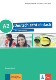 Deutsch echt einfach A2 Multimediapakket (2 Audio-CDs + DVD)