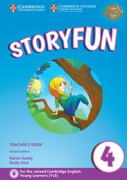 Storyfun for Starters, Movers and Flyers Second edition 4 Teacher's Book with Audio