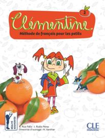Clémentine - Méthode de français pour les petits - Niveau 2 - Livre + DVD