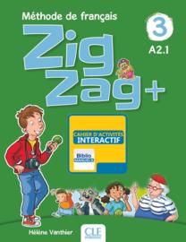 Zigzag + - Niveau 3 - Version numérique élève - Cahier d'activités Manuel numérique élève