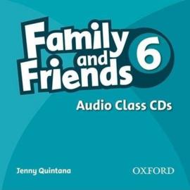 Family & Friends 6 Audio Class CD