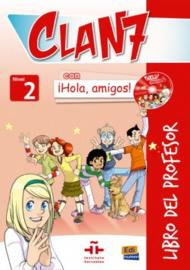 Clan 7 con ¡Hola, amigos! 2 - Libro del profesor