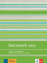 Netzwerk neu A2 Lerarenboek met Audio-CDs en Video-DVD
