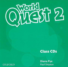 World Quest 2 Class Audio Cds (3 Discs)