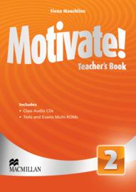 Motivate! Level 2 Teacher's Book & Audio CD & Test CD Pack