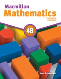 Macmillan Mathematics Level 4 Pupil's Book + eBook Pack B