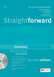 Straightforward 2nd Edition Elementary Level  Teacher's Book + eBook Pack