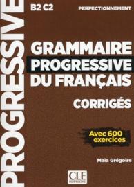 Grammaire progressive du français - Niveau perfectionnement - Corrigés - Nouvelle couverture