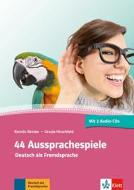 44 Aussprachespiele Buch + 2 Audio-CDs + Online-Angebot