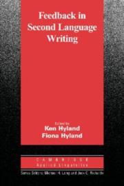 Feedback in Second Language Writing Hardback