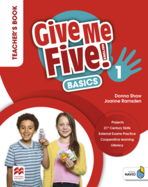 Give Me Five! Level 1 Teacher's Book Basics Pack