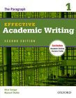 Effective Academic Writing Second Edition 1 Student Book